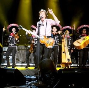 Sir Paul McCartney in Mexico show Fri 11 May 2012
