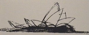 Sydney Opera House design sketch