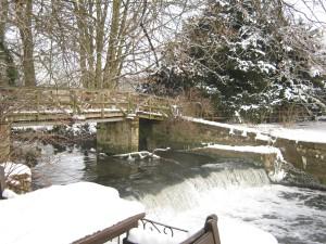 The Weir at the Saxon Mill 26 Dec 2010