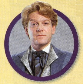 Kenneth Branagh as conceited fop Gilderoy Lockhart
