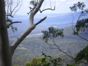 mountain view Great Dividing Range