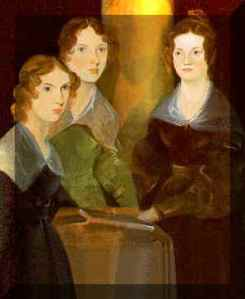 Painting of the Bronte sisters by Branwell Bronte