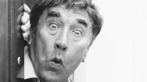 Frankie Howerd, my all-time favourite comedian (source: Channel4.com)
