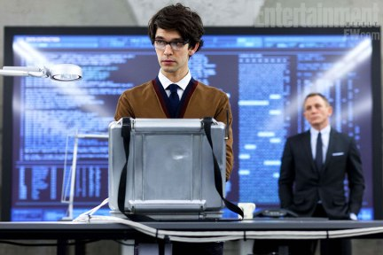 Ben Wishaw as Q in Skyfall James Bond