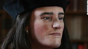 Richard III facial reconstruction based upon his skull (credit: cnn.com)