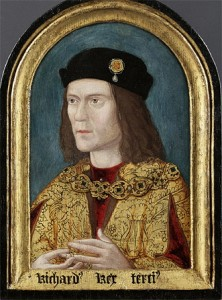 Richard III - earliest surviving portrait (credit : medievalhistories.com)