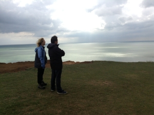 gazing out to sea (photo credit: Abigail Robinson)