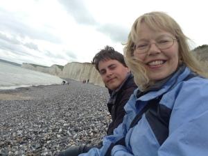 on Birling Gap Beach (photo credit: Abigail Robinson)