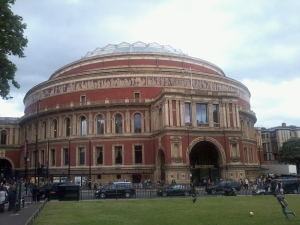 Royal Albert Hall, London (photo credit: Abigail Robinson)