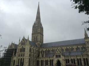 Salisbury Cathedral. Its spire is the tallest cathedral spire in England  (photo credit Jamie Robinson)
