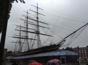 The Cutty Sark 14 Sep 2013 (photo credit: Jamie Robinson)