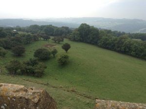 view from the top of Broadway Tower 1 Oct 2013 (photo credit Jamie Robinson)