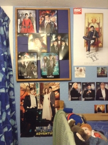 Doctor Who rules in teen bedroom (photo credit Abigail Robinson)