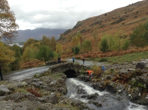 Ashness Bridge, near Derwentwater (photo credit Abigail Robinson)
