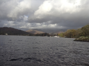 cruise on Lake Windermere (photo credit Abigail Robinson)