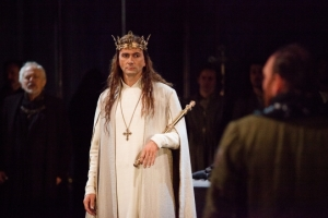 David Tennant as Richard II (photo credit Kwame Lestrade)
