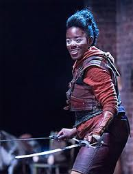 Tiger Lily in the Royal Shakespeare company's production of Wendy & Peter Pan