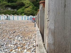 the beach at Holywell Retreat - photo credit Abigail Robinson