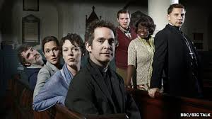 the cast of BBC 2 sitcom Rev (photo credit bbc.co.uk)