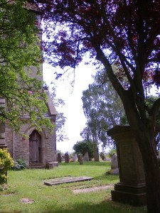 Old Milverton Churchyard 27 June 2014 (photo taken by SC Skillman)