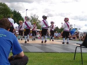 Morris Dancers (photo credit Abigail Robinson)