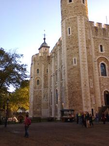 at the Tower of London (photo credit SC Skillman)