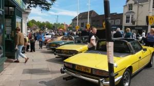 Stratford upon Avon Motor Festival 4 May 2015
