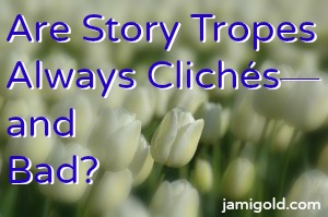 one author's question about story tropes