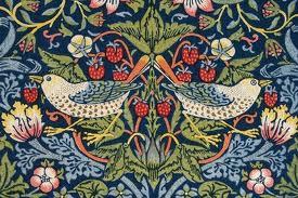 William Morris Strawberry Thief design
