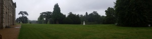 The parkland surrounding Compton Verney house, Warwickshire