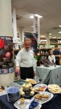 Philip Davies at his book launch