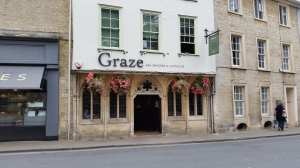 Graze Bar and Brasserie in Gosditch St, Cirencester