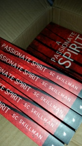 """A Passionate Spirit"" (paranormal thriller) by SC Skillman"