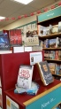 book display at Kenilworth Books 8 Feb 16 showing APS