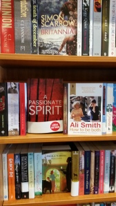 APS on display on shelf in Warwick Books