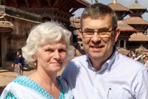 Phillipa and Dan Munday in Nepal 2017
