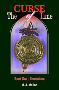 MJ MALLON THE CURSE OF TIME BOOK COVER