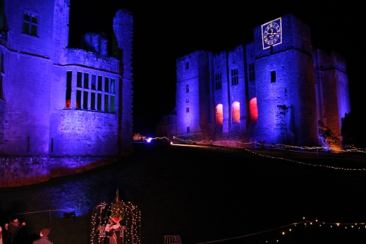 Enchanted Kenilworth - view of the castle on 15 Dec 2017 - photo credit Abigail Robinson