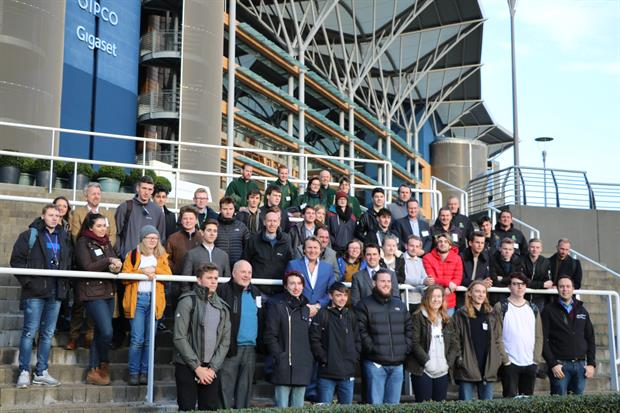 David Domoney launches the Young Gardener of the Year 2018 competition at Ascot