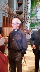 Archbishop Justin Welby at Coventry Cathedral 5 May 2018
