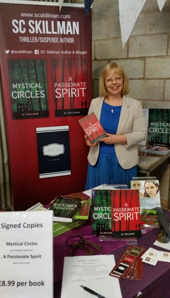 SC Skillman author at Fair in Nuneaton 20 May 2018