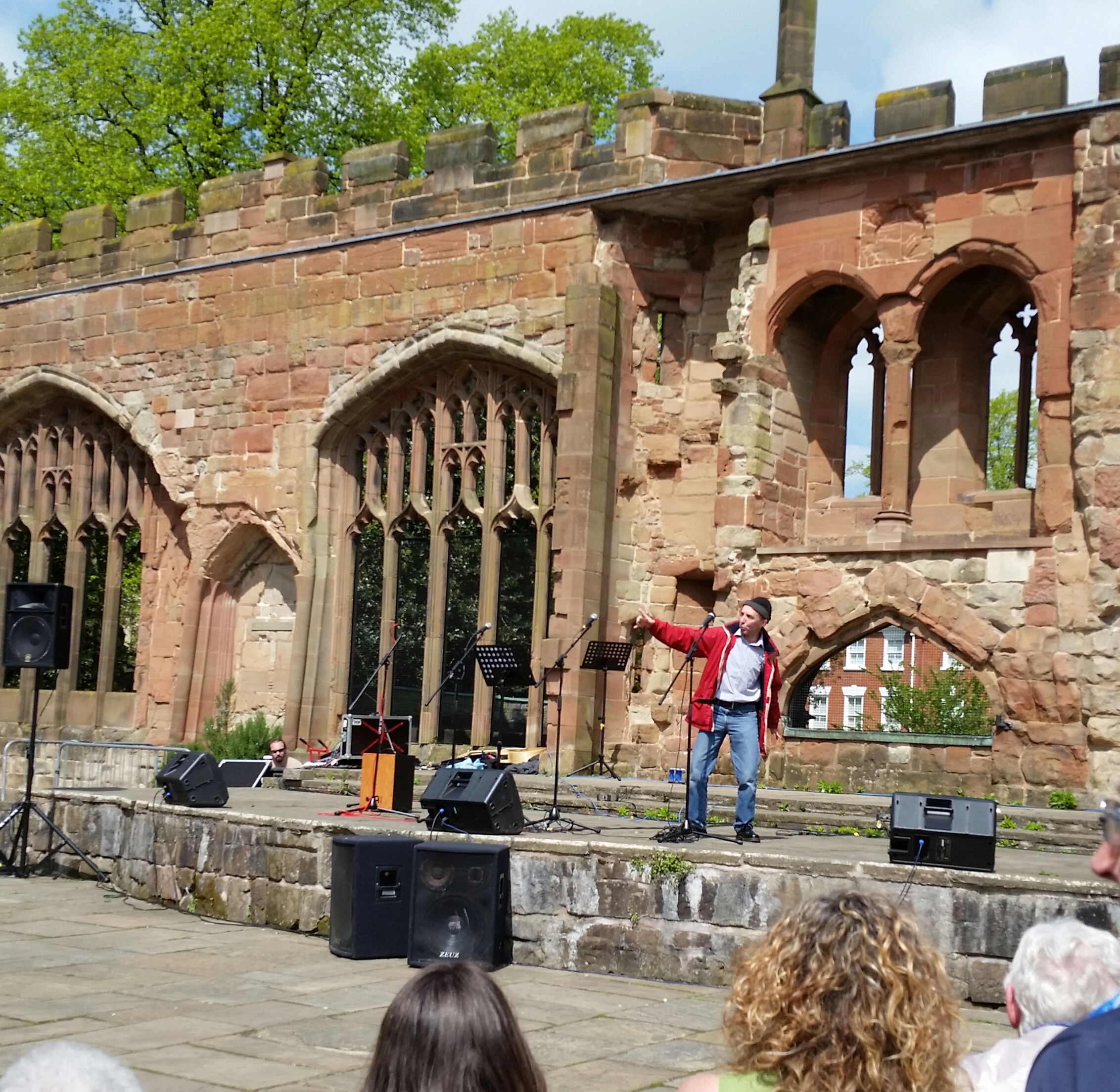 Drama at Coventry Cathedral 5 May 2018