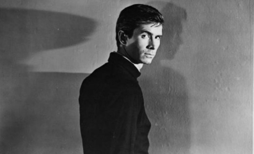 Anthony Perkins as Norman in Psycho