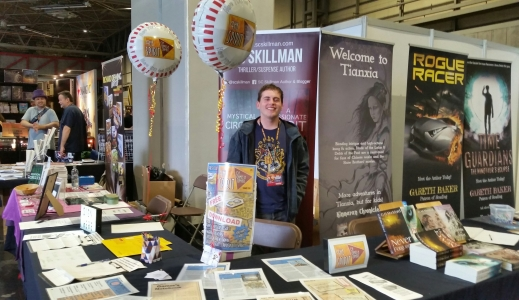 Author Stand at UK Games Expo