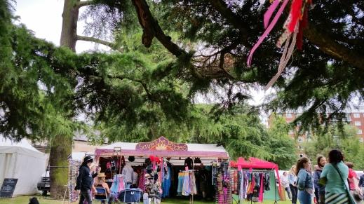 Leamington Spa Peace Festival view