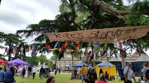 Kate's Story Tree at Leamington Spa Peace Festival