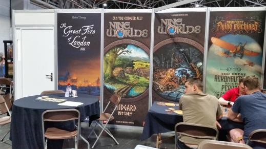 Richard Denning Games display at UK Games Expo