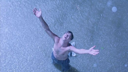 Tim Robbins in The Shawshank Redemption