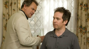 Hugh Bonneville and Tom Hollander in Rev
