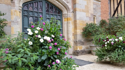 the entrance to the gatehouse, Coughton Court
